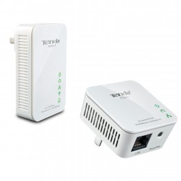 KIT PLC/POWERLINE COMPUESTO POR TENDA PW201A WIFI + TENDA P200
